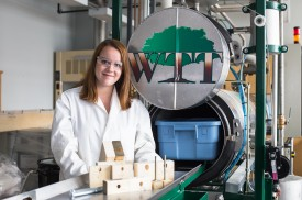 Cassandra Lafond, étudiante PhD, Sciences du bois