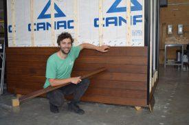 Samuel Guy-Plourde, étudiant MSc, Génie du bois